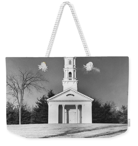 New England Church Weekender Tote Bag