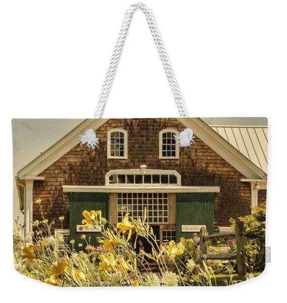 New England Farmhouse Weekender Tote Bag