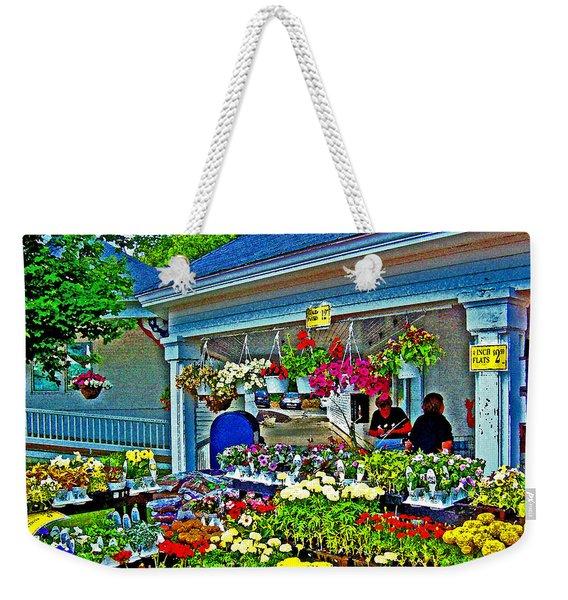 New England Flower Shops Weekender Tote Bag