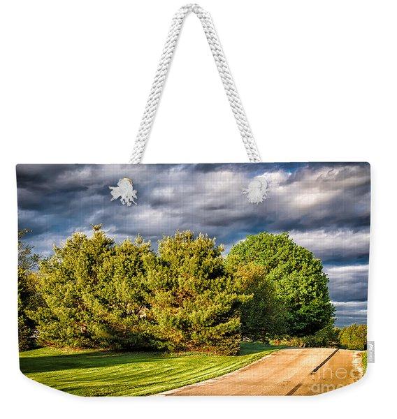 New England Spring 52 Weekender Tote Bag