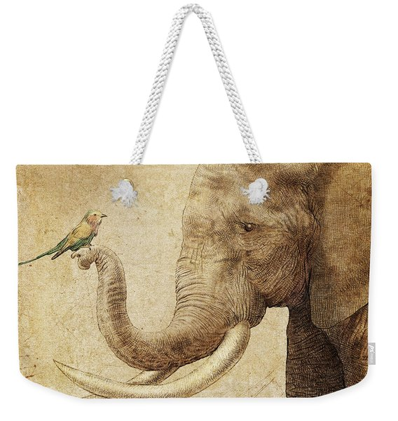 New Friend Weekender Tote Bag
