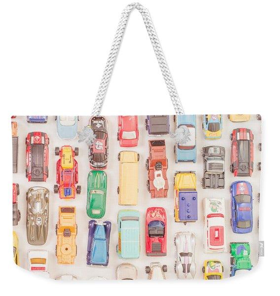 New Jersey Traffic Jam Weekender Tote Bag