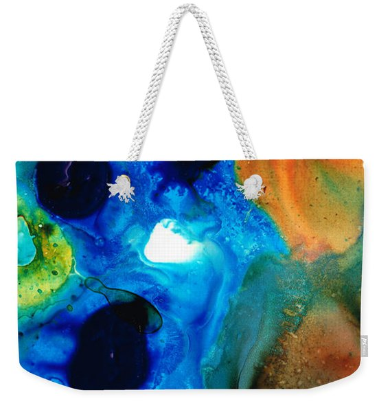 New Life - Abstract Landscape Art Weekender Tote Bag