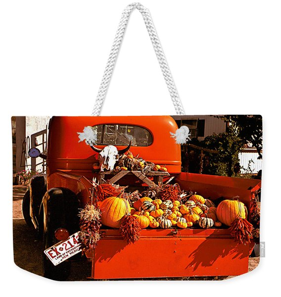 New Mexico Truck Weekender Tote Bag