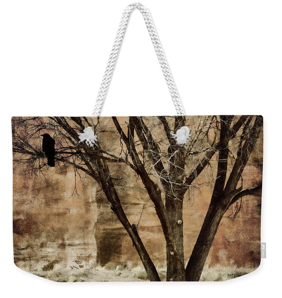 New Mexico Winter Weekender Tote Bag