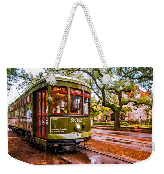 New Orleans Classique Oil Weekender Tote Bag