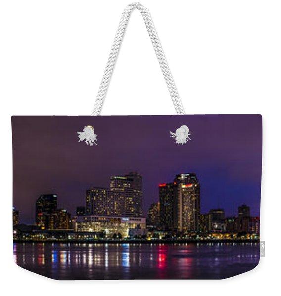 New Orleans Skyline Weekender Tote Bag