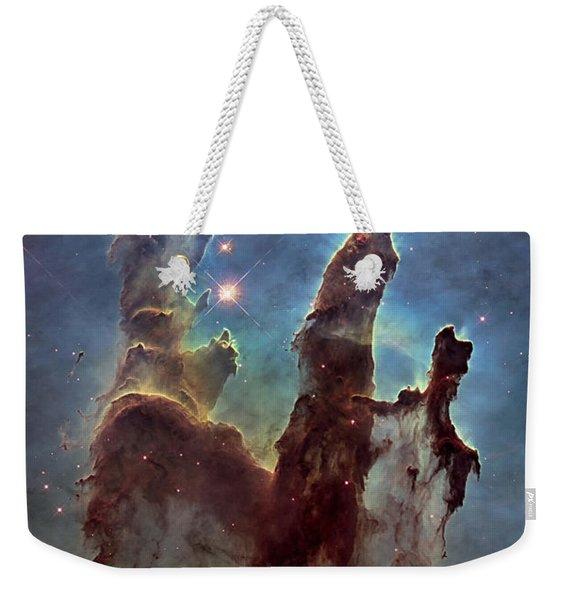New Pillars Of Creation Hd Tall Weekender Tote Bag