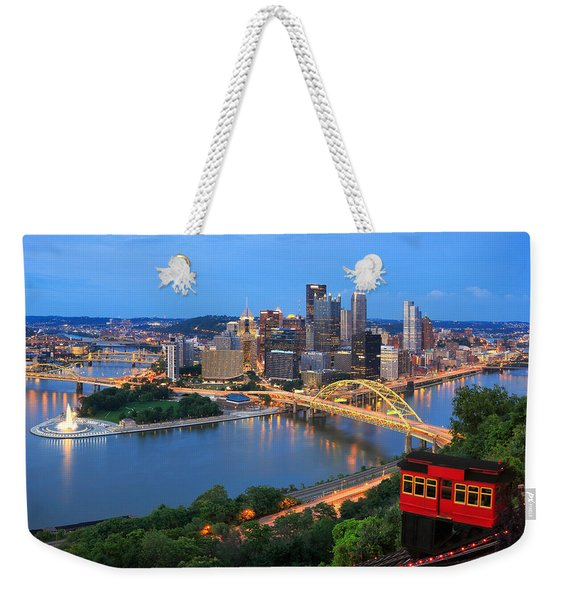 Pittsburgh Summer  Weekender Tote Bag