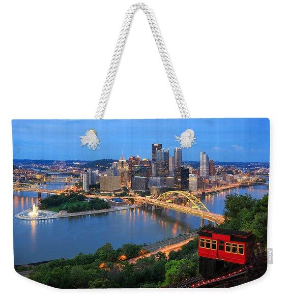 Pittsburgh Summer  Weekender Tote Bag
