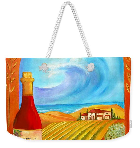 New Wine  Joel 2 Weekender Tote Bag