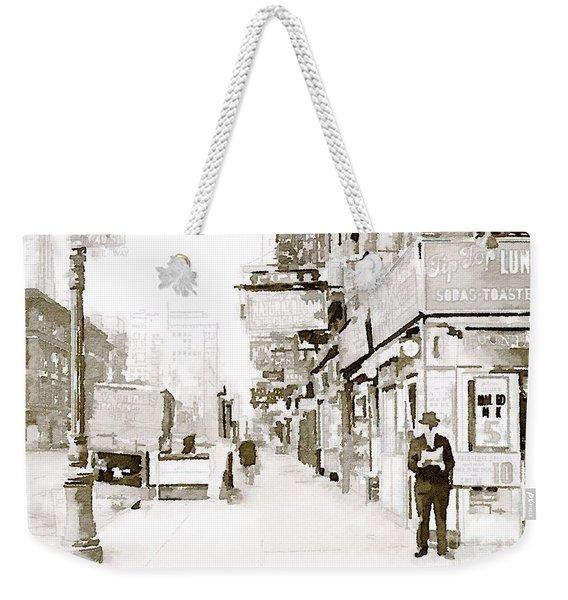 New York 1940 Weekender Tote Bag