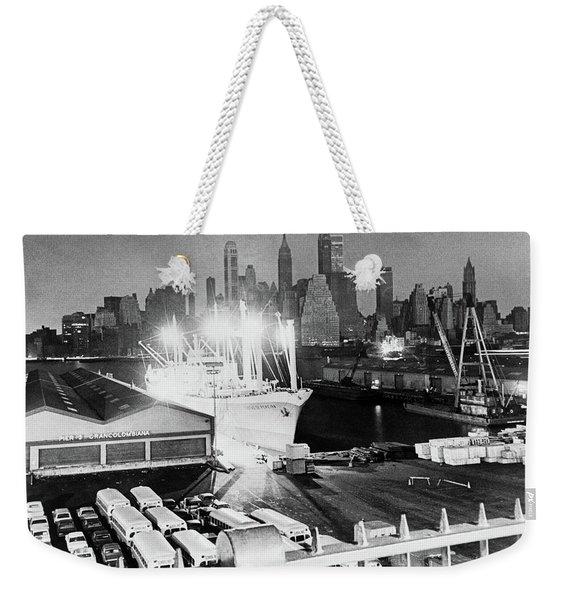 New York Blackout, 1965 Weekender Tote Bag