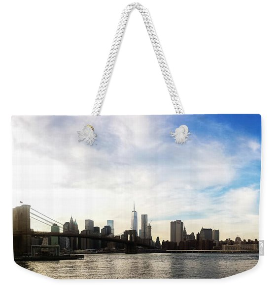 New York City Bridges Weekender Tote Bag
