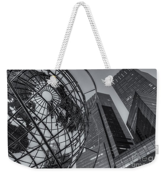 New York City Columbus Circle Landmarks II Weekender Tote Bag