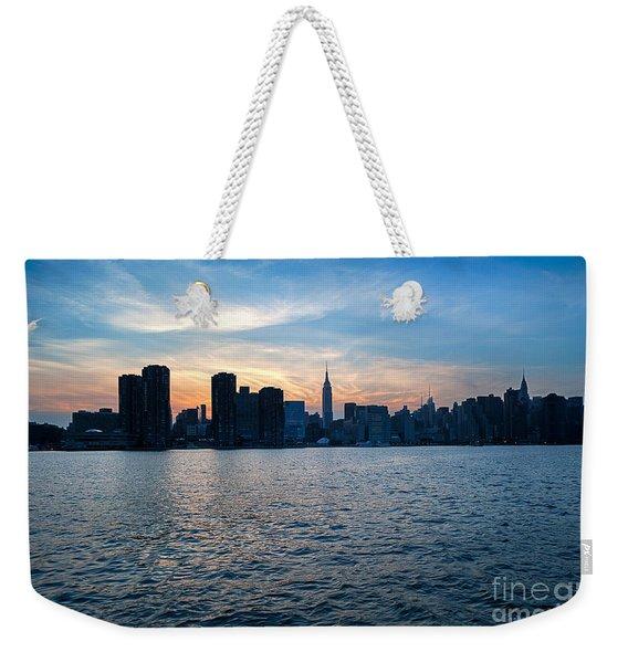 New York New York Weekender Tote Bag