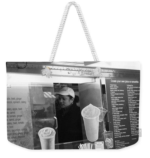 New York Street Photography 11 Weekender Tote Bag
