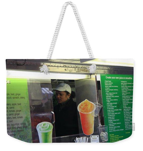 New York Street Vendor 2 Weekender Tote Bag