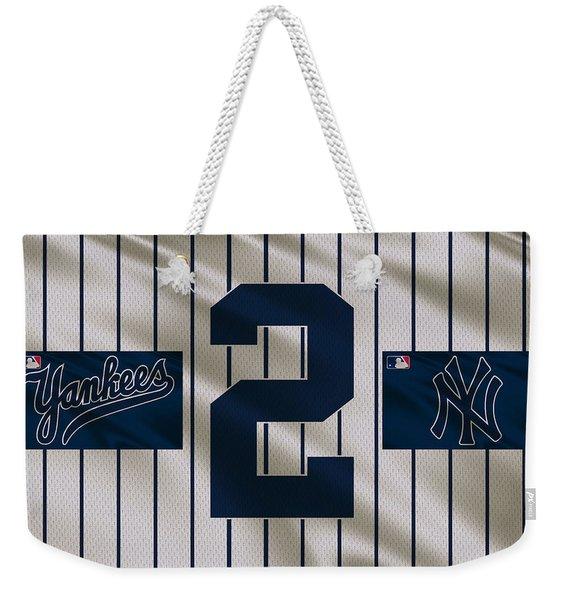New York Yankees Derek Jeter Weekender Tote Bag