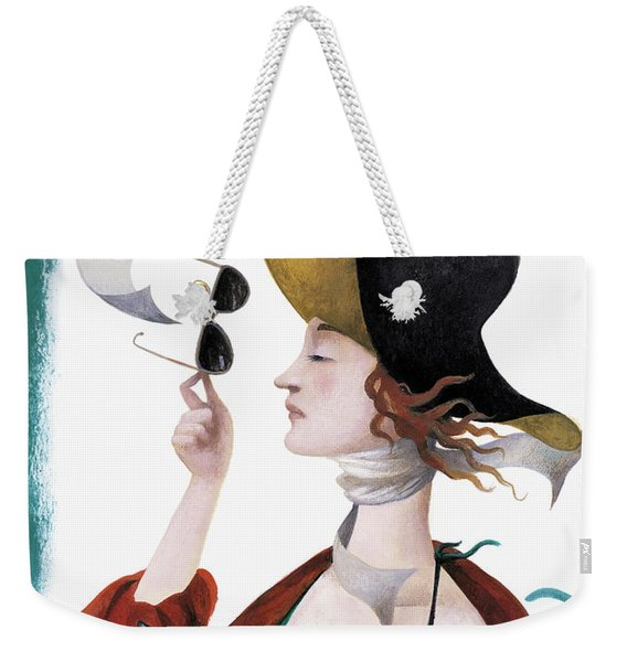 Debut On The Beach Weekender Tote Bag