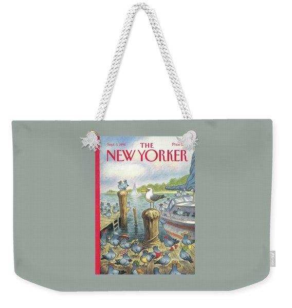 New Yorker September 5th, 1994 Weekender Tote Bag