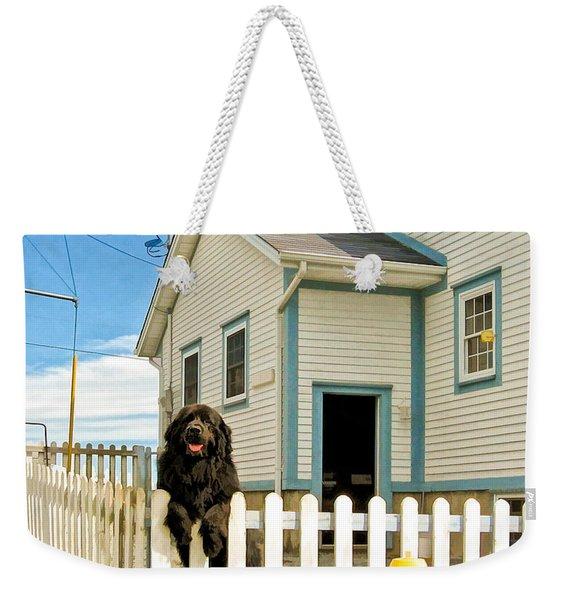 Newfoundland Dog In Newfoundland Weekender Tote Bag