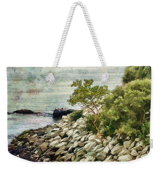 Newport Cliff Walk Weekender Tote Bag