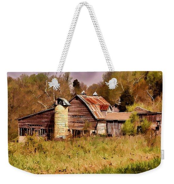 Newton Township Barn Weekender Tote Bag