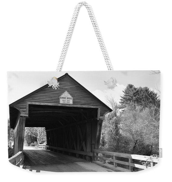 Nh Covered Bridge Weekender Tote Bag