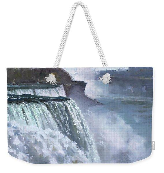 Niagara American Falls Weekender Tote Bag