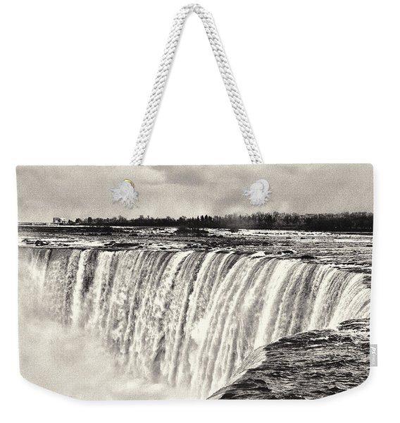 Weekender Tote Bag featuring the photograph Niagara Falls  by Garvin Hunter