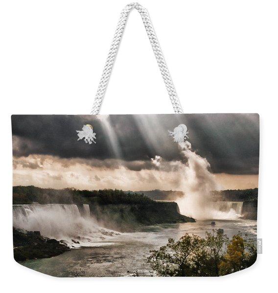 Niagra Falls Weekender Tote Bag
