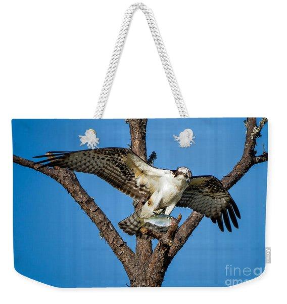 Nice Catch Weekender Tote Bag