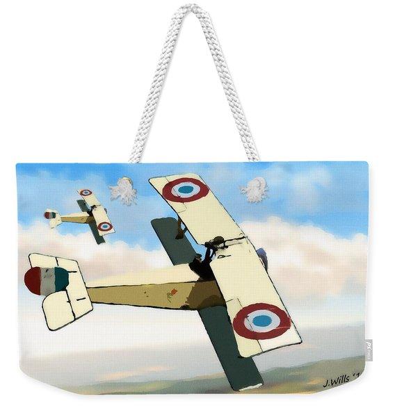 Nieuport 11 Bebe Weekender Tote Bag