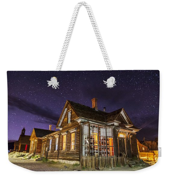 Night At The Cain House Weekender Tote Bag