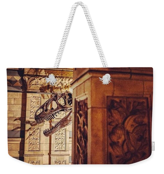 Night At The Museum, London Weekender Tote Bag