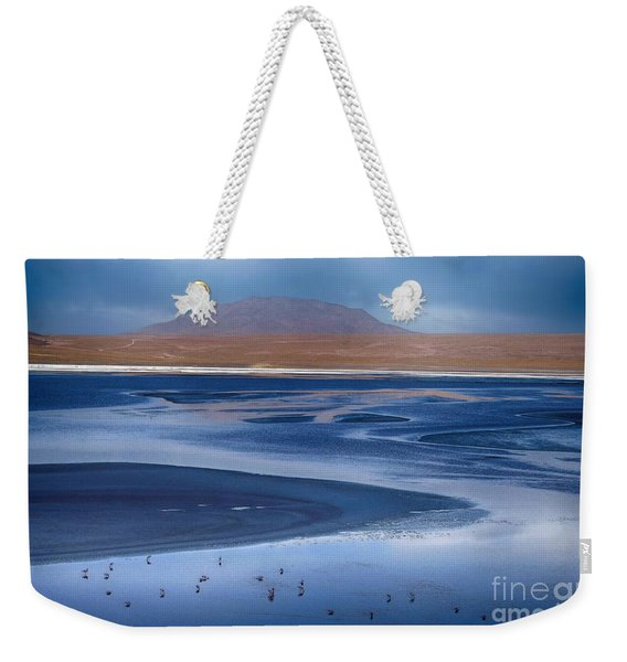 Laguna Colorada - Night Blue Weekender Tote Bag