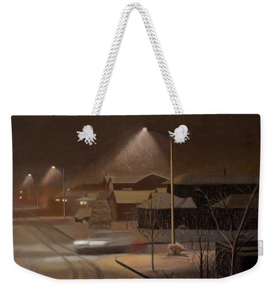 Night Drive Weekender Tote Bag