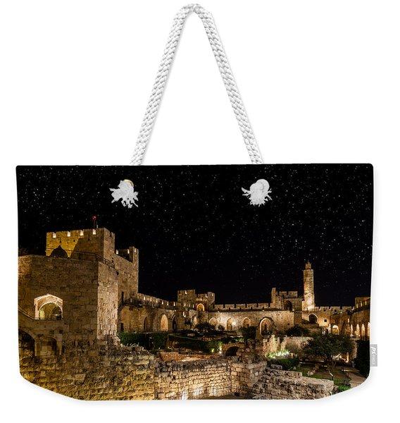 Night In The Old City Weekender Tote Bag