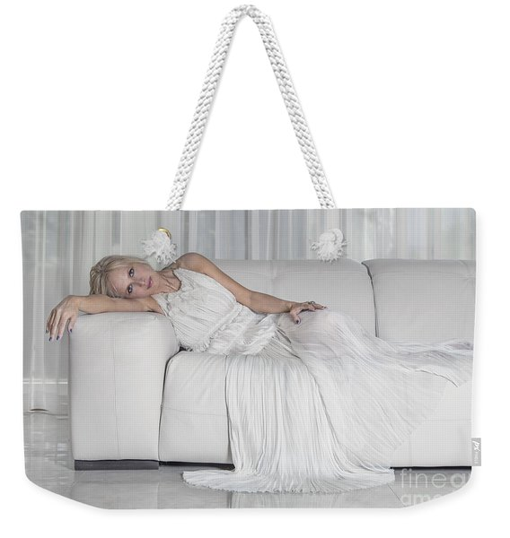 Night In White Satin Weekender Tote Bag