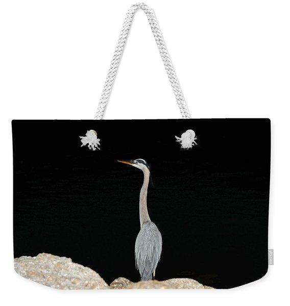 Night Of The Blue Heron 2 Weekender Tote Bag