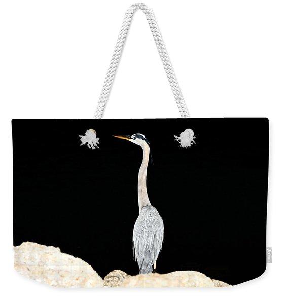 Night Of The Blue Heron  Weekender Tote Bag