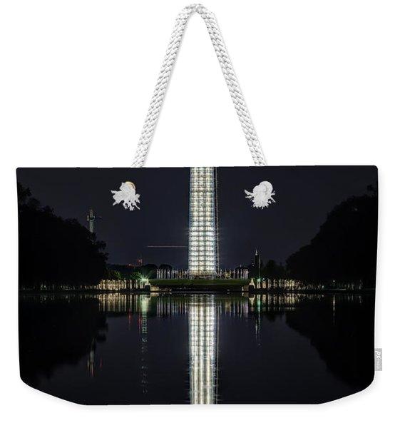 Night Scaffolding Weekender Tote Bag