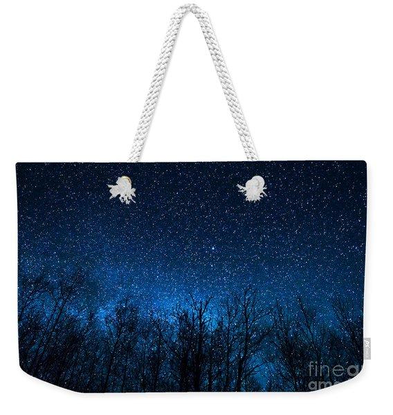 Night Stars Weekender Tote Bag