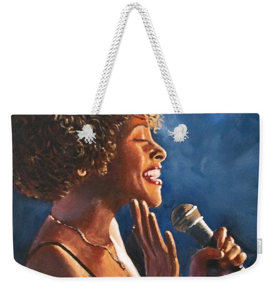 Nightclub Singer Weekender Tote Bag