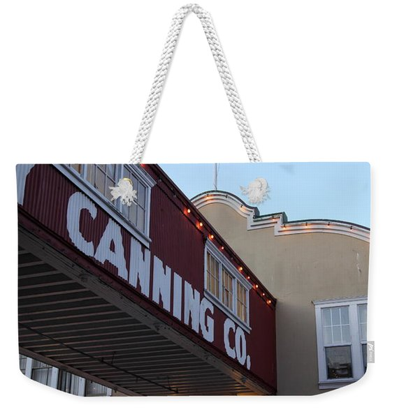 Nightfall Over Monterey Cannery Row California 5d25164 Weekender Tote Bag