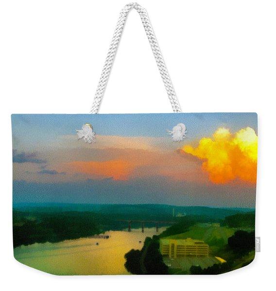 Nightfall Weekender Tote Bag