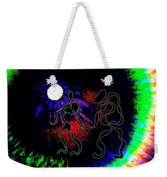 Nightly Rhythms Of Desire Weekender Tote Bag