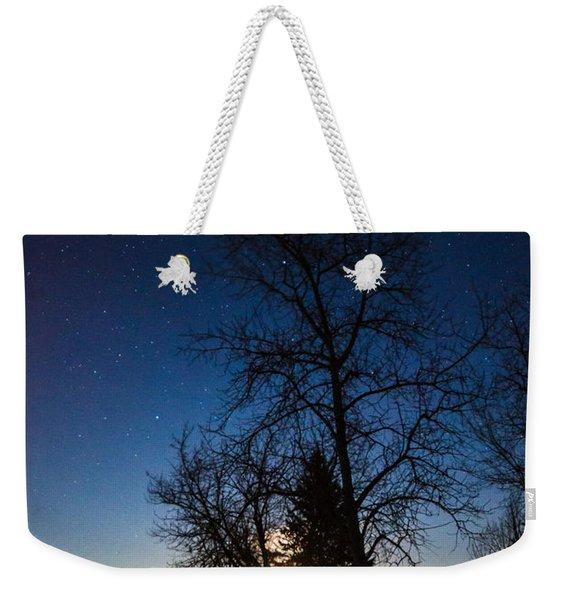 Night's Shadows Weekender Tote Bag