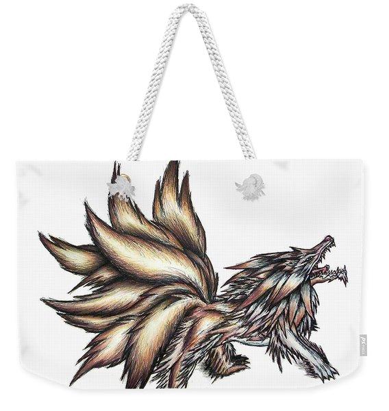 Nine Tails Wolf Demon Weekender Tote Bag